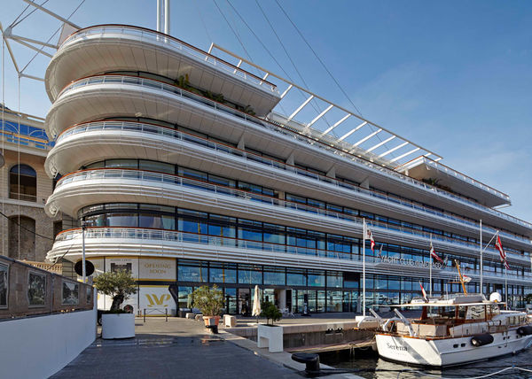 New Yacht Club in Monaco